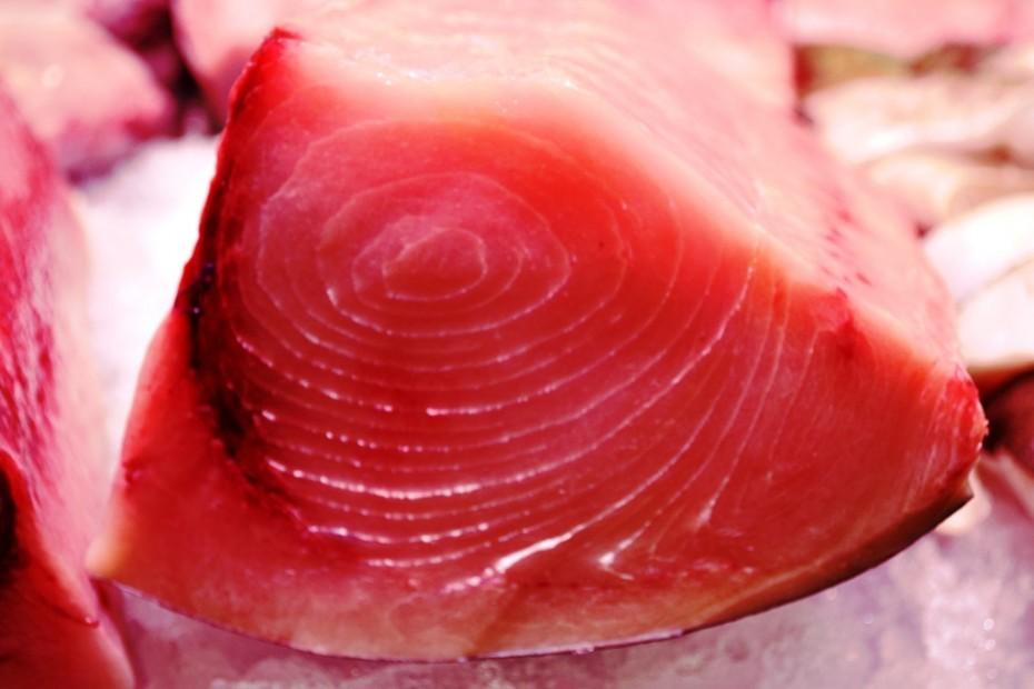 Pescado aguja del mercado de Almería, delicioso.